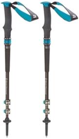 Black Diamond Trekkingstock Women's Trail Pro Shock / Flexible Wanderstöcke für Damen mit Control Shock-System zum Abfedern von harten Stößen, One Size - 1