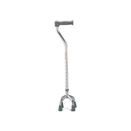 Days Einstellbare Quadruped Spazierstock mit kleiner Basis, bequemer Handgriff, Bietet Cane zusätzliche Unterstützung und Stabilität, Durablel Begrenzte Mobilitätshilfe, - 1