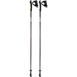 LEKI Unisex – Erwachsene Ventrix Shark Nordic Walking Stöcke, White-Red, 120 - 1