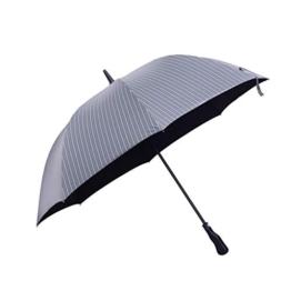 LGQ-LIFE Stock Mit Regenschirm , Rutschfester Stock Mit Langem Griff/Stangen Tourismus-Multifunktionsstock-Regenschirm Männer Frauen Geschenk-Regenschirm (Color : Gray) - 1