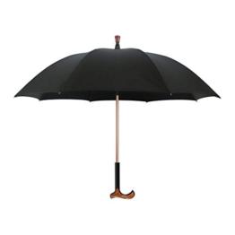 Walker Spazierstock und Regenschirme Spazierstock, Multifunktionsstock mit Regenschirm, Spazierstock-Regenschirm - Hohe Qualität - 1